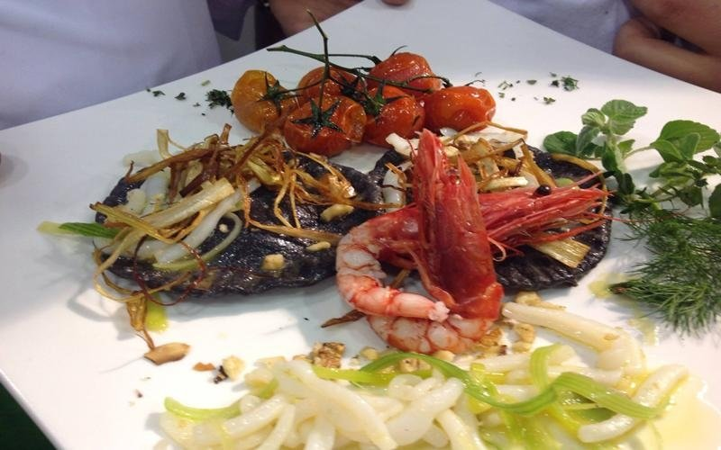 antipasto di pesce ristorante Roma