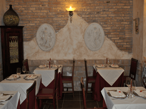 restaurant for events Rome