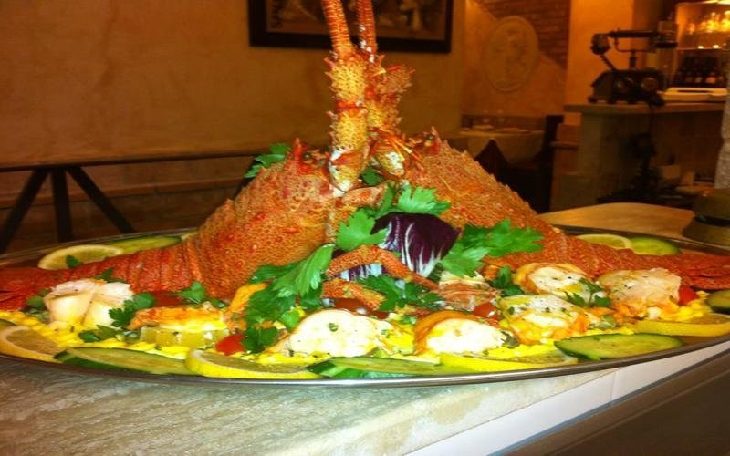 antipasto imperiale ristorante Roma