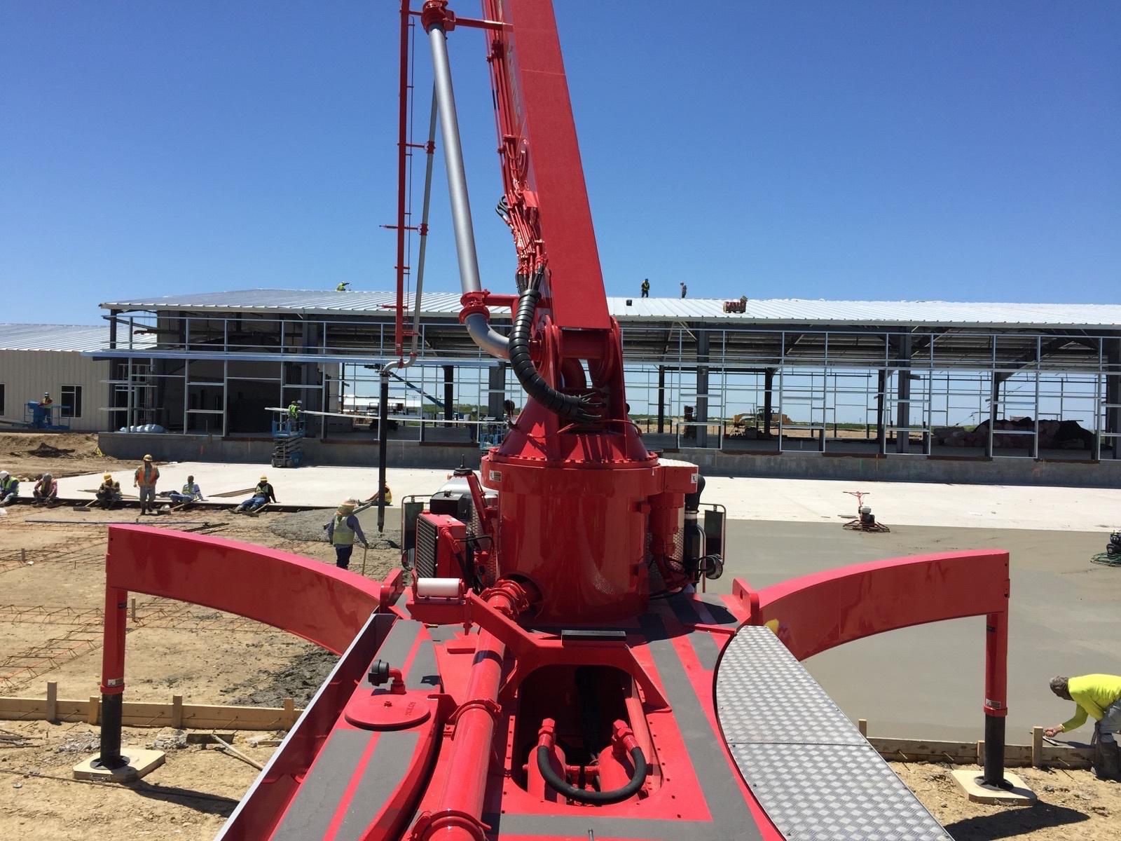 concrete pumping Del Rio, TX