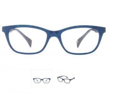 Occhiali da vista Unisex I.I EYEWEAR colore BLU