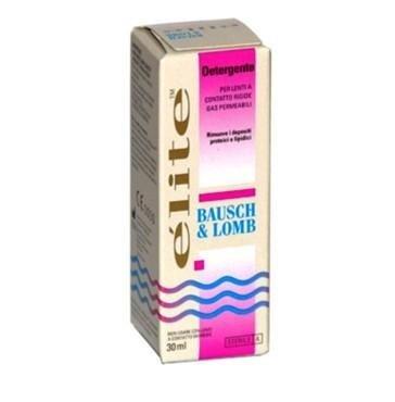 Liquido detergente per lenti a contatto semirigide