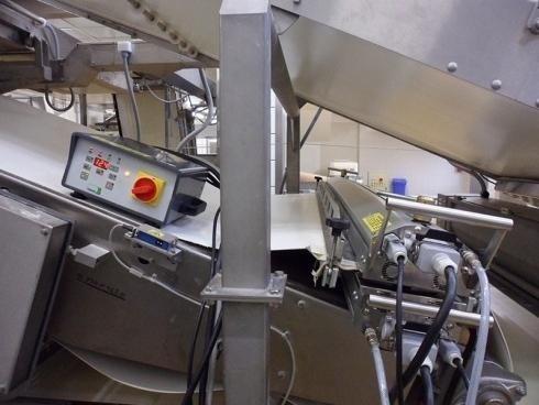 Manutenzione nastri alimentari in salita