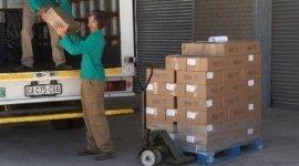 consegna bancali, spedizione pacchi, trasporto merci su pallet