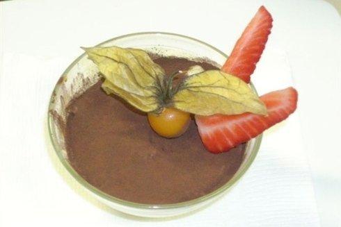 Tartufo cioccolato e fragola
