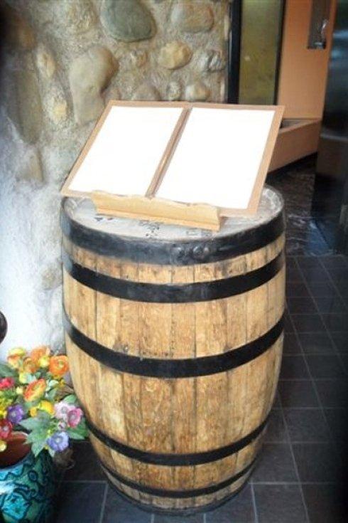 Botte di vino ornamentale