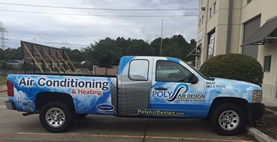 Poly Air Design AC Service Truck in Humble, TX