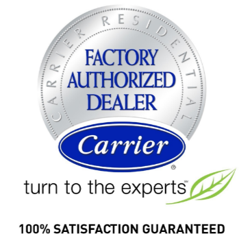 Carrier Air Conditioning Factor Authorized Dealer Badge