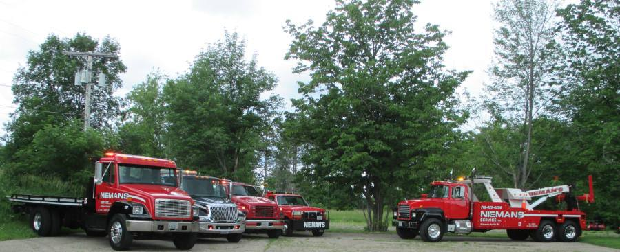 Vehicle towing in Wisconsin Rapids, WI