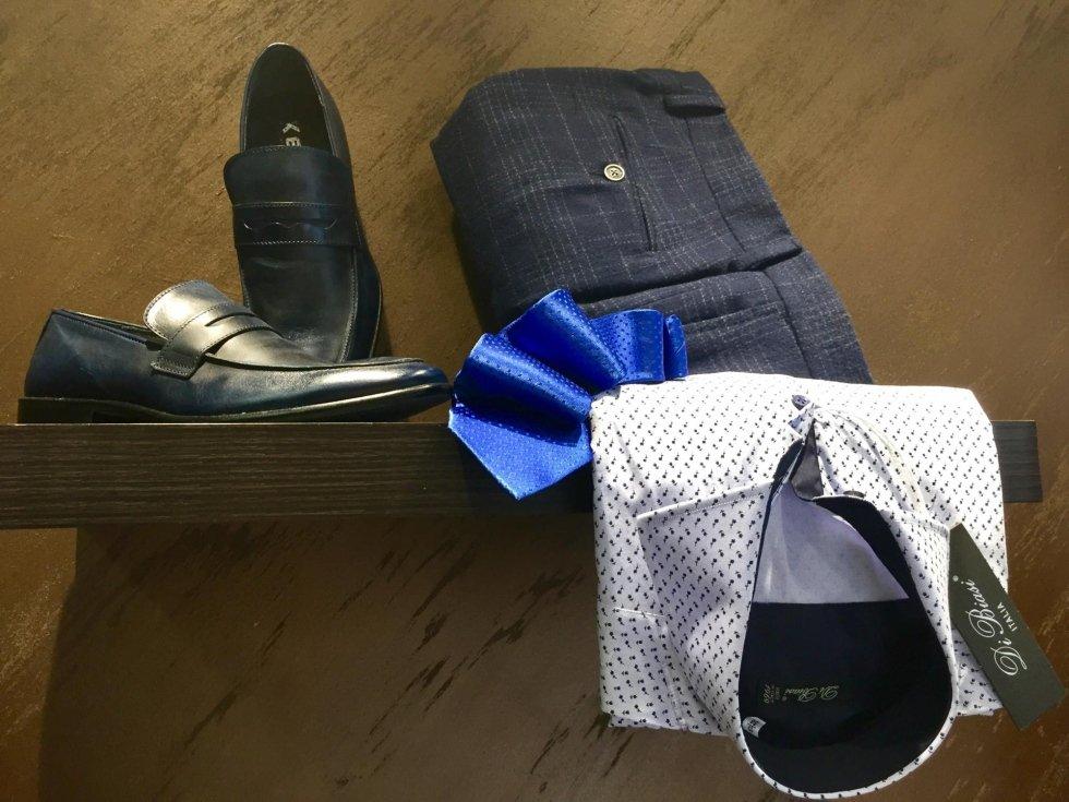 pantaloni e camicie sartoriali