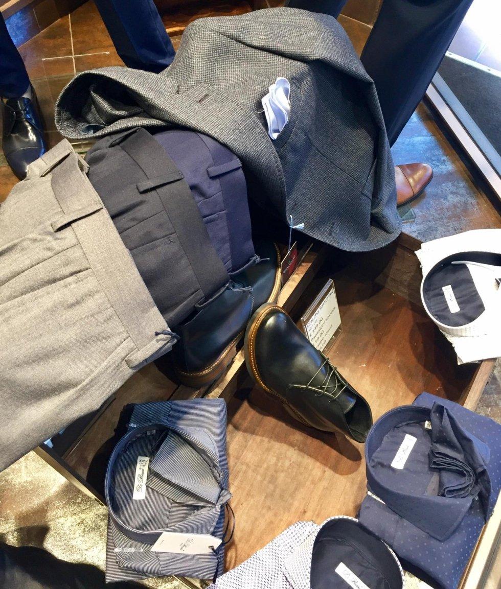 giacche e pantaloni sartoriali