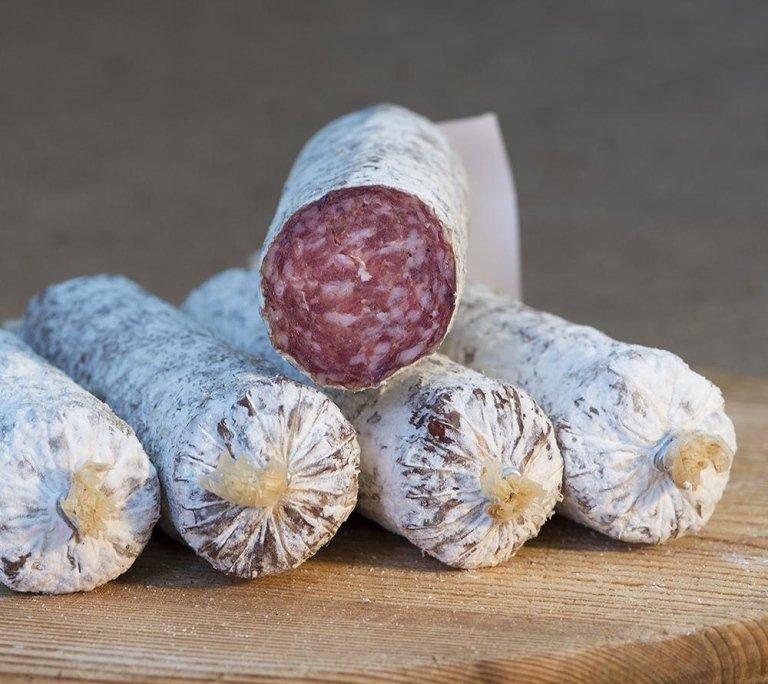 Salsiccione - a larger variant of salami