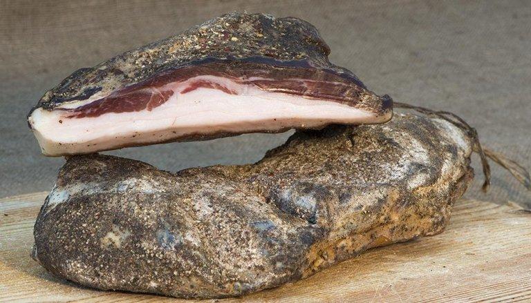 Cured shoulder of pork