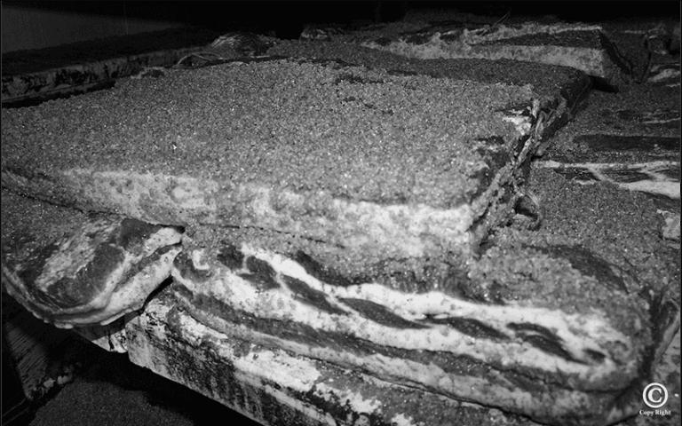 Produzione di salumi pepati