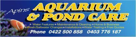 Aquarium & pond care banner