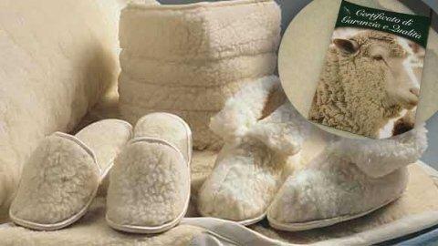 ciabatte e stivaletti in lana merinos