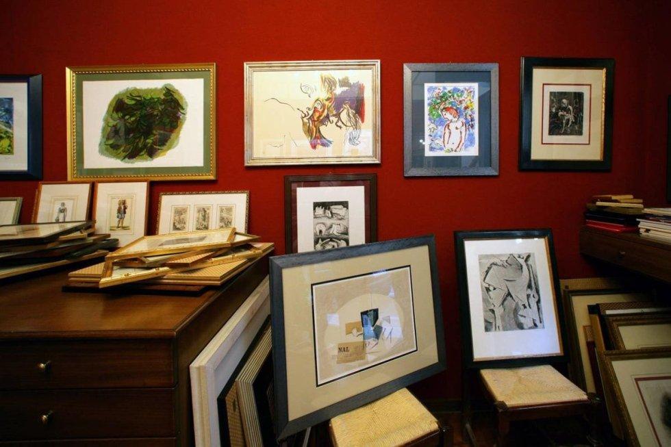 negozio di opere d'arte