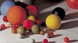 sfere materiali plastici
