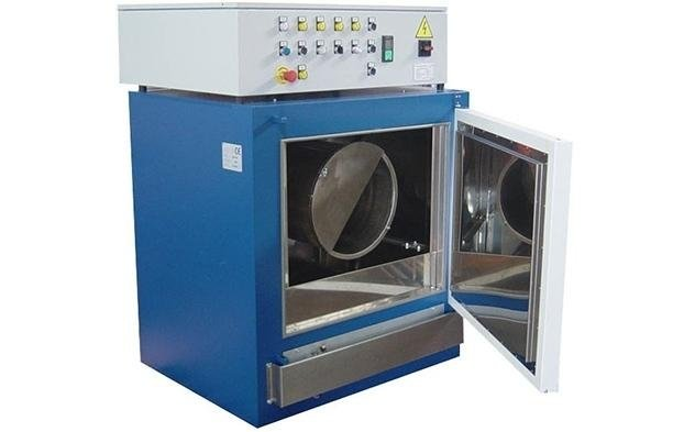Rotary ventilated electric ovens