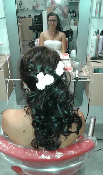 acconciatura capelli neri