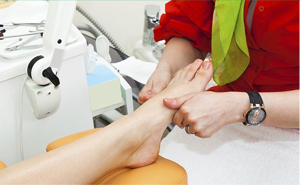 trattamento problema dei piedi
