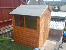 Summer houses - Ebbw Vale, Wales - PRS - Wooden House