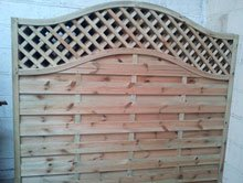 Summer houses - Ebbw Vale, Wales - PRS - Wooden Fence