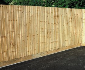 Feather edge - Trecenydd, Wales - PRS - Wooden Fencing