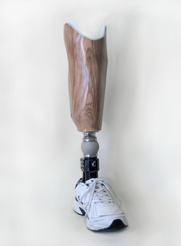 below knee prothesis Bk suspension systems  are directed to the tendon just below the knee cap as well as the back of  of the prosthesis, covers the amputee's knee,.