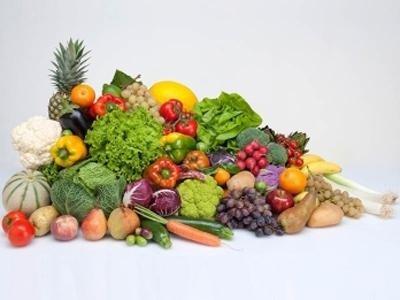 Consegna di frutta e verdura