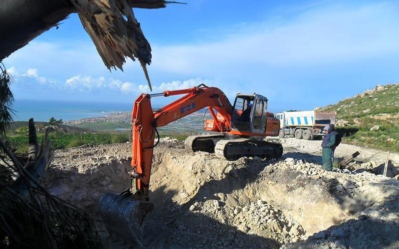 processo di escavazione