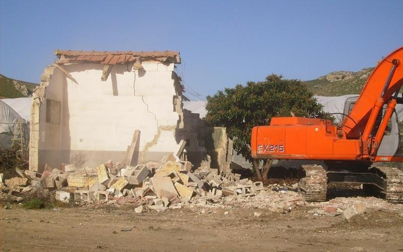 demolizione di edifici