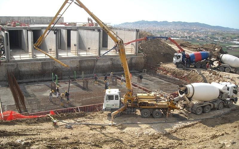 costruzione di fondamenta