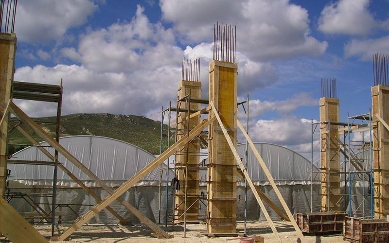 impianto professionale per bonifica di terreno