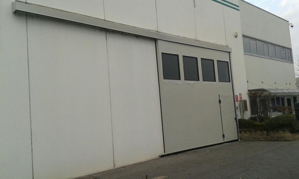 Porte scorrevoli industriali