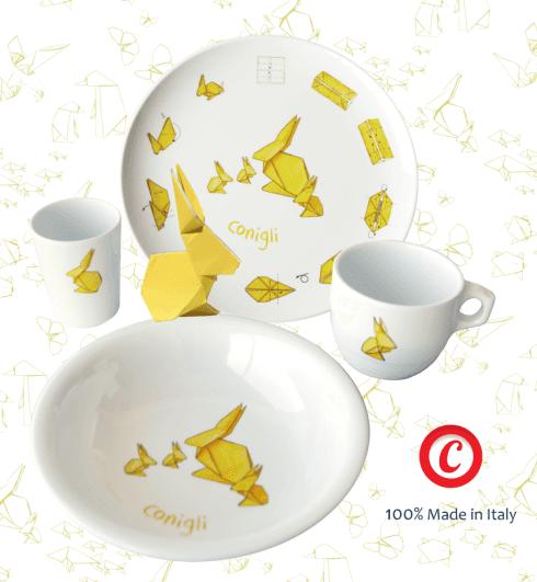 Amici Origami - Conigli
