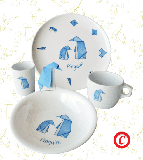 Amici Origami, Pinguini