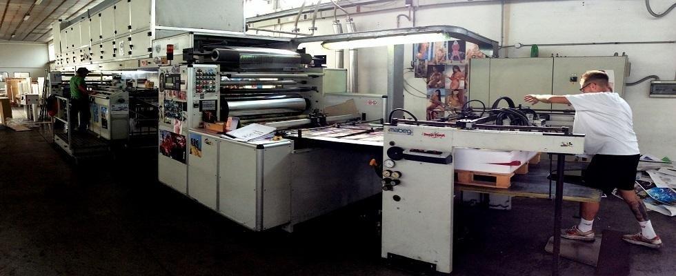 dei macchinari in una fabbrica