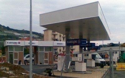 Coperture per distributori di carburante