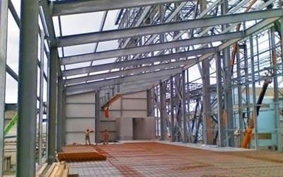 Costruzione di strutture metalliche
