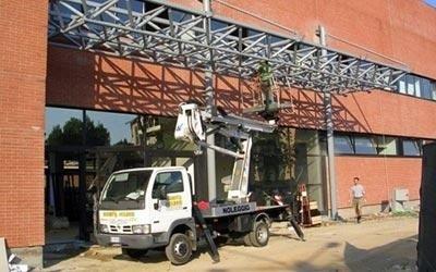 Opere di carpenteria metallica