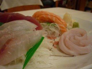 Piatto unico con specialità giapponesi