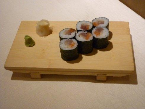 Sushi con riso