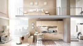 cucina, camera da letto
