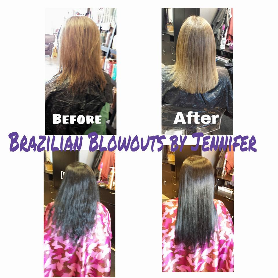 Before and After Brazilian Blowout Elko, NV