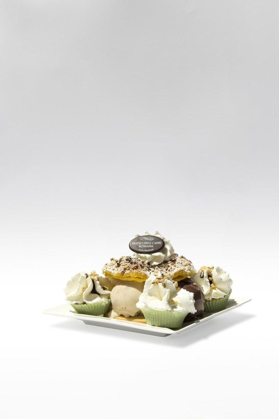 composizione di gelato