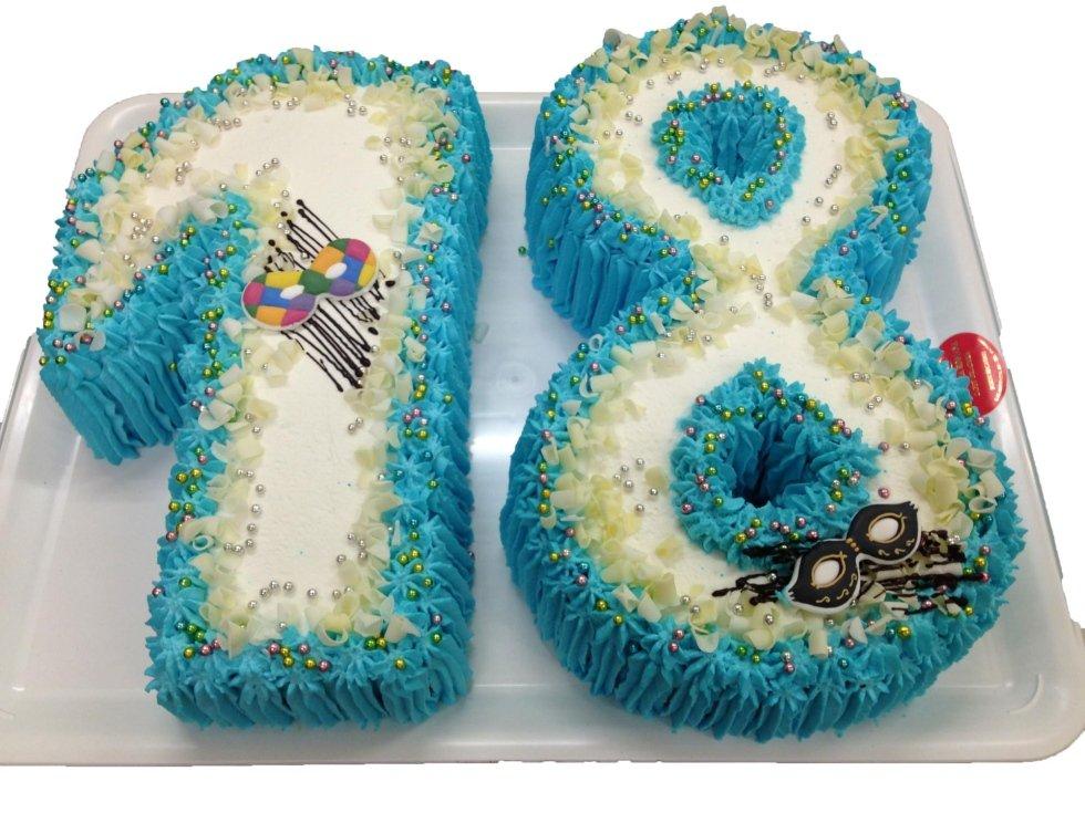 torta di compleanno personalizzata