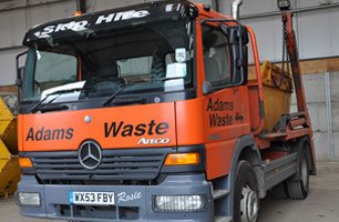 Adams Waste vehicle
