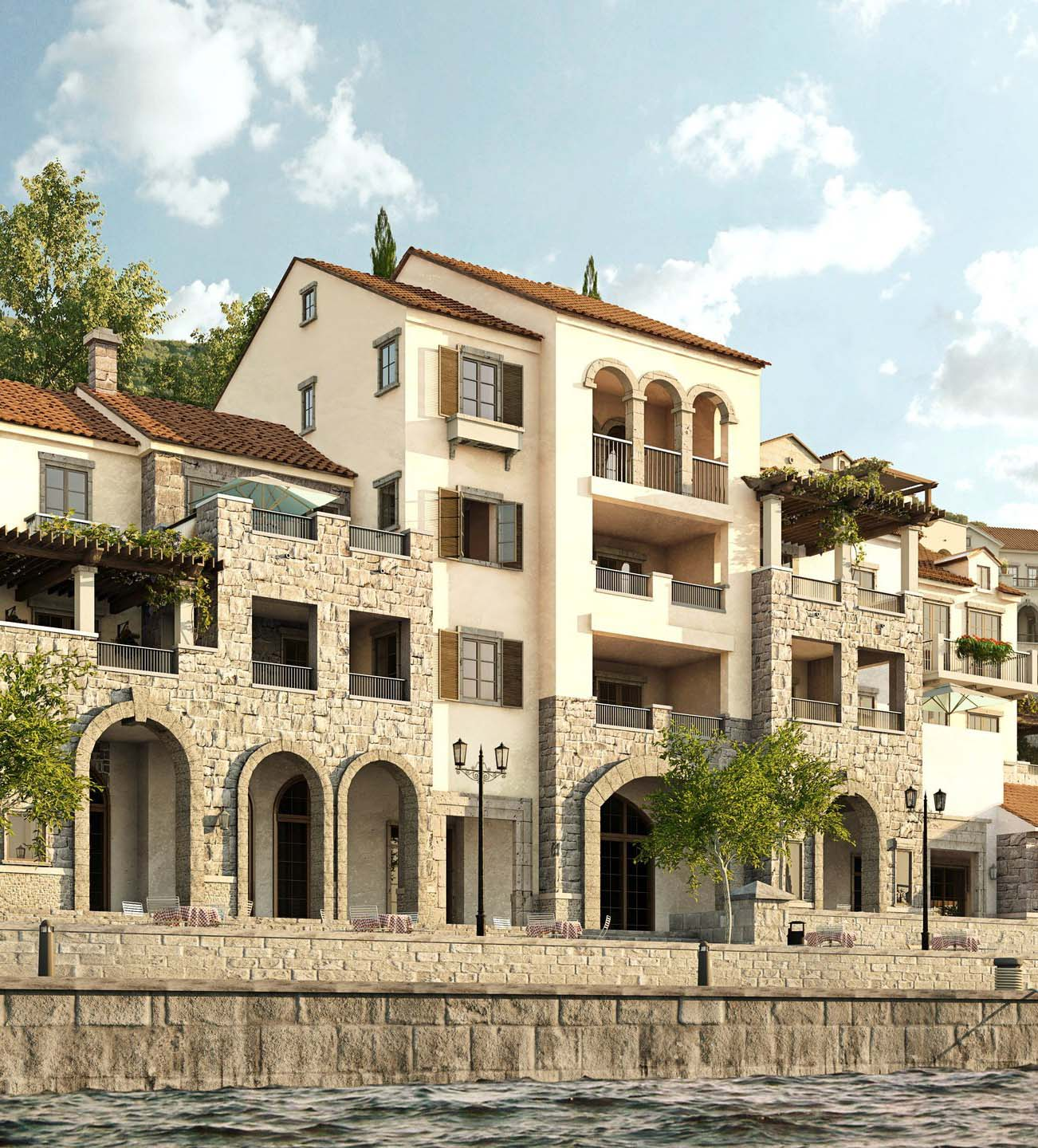 Waterfront Apartments: Waterfront Apartments In Montenegro