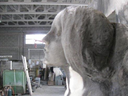 Statue in marmo